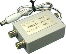 VSP-2M 小型映像2分配器 | 映像...